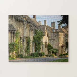 Early morning over connected cottages jigsaw puzzle