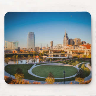 Early Morning Over Nashville, Tennessee, USA 2 Mouse Pad