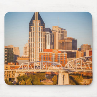 Early Morning Over Nashville, Tennessee, USA 3 Mouse Mat