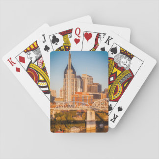 Early Morning Over Nashville, Tennessee, USA 3 Playing Cards