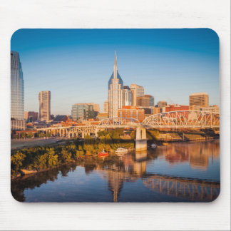Early Morning Over Nashville, Tennessee, USA Mouse Pad