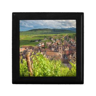 Early morning overlooking village of Riquewihr Gift Box