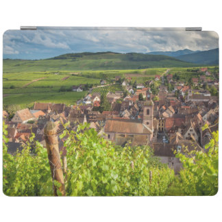 Early morning overlooking village of Riquewihr iPad Cover