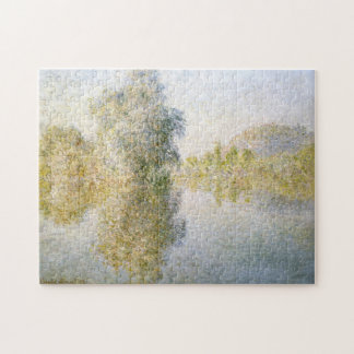 Early Morning Seine Giverny Monet Fine Art Jigsaw Puzzle