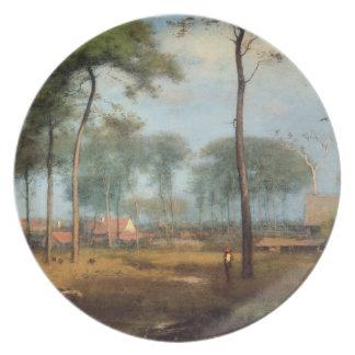 'Early Morning: Tarpon Springs' Plates