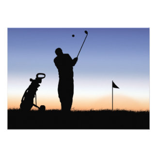 Early Morning Tee Time Invitations