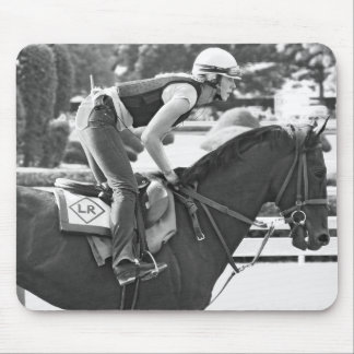 Early Morning Workouts at Saratoga Mouse Pad