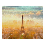 Early Paris Morning Poster