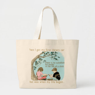 Early Reading Encouragement Jumbo Tote Bag