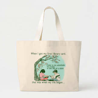 Early Reading Large Tote Bag