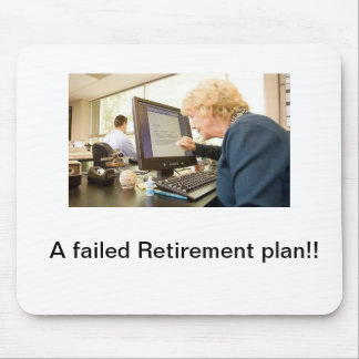 Early retirement mouse mat