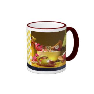 Early Shopping Day Ringer Mug