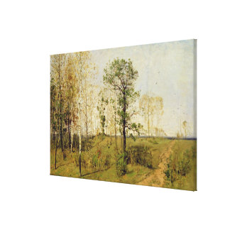 Early Spring at Weimar, 1876 Canvas Print
