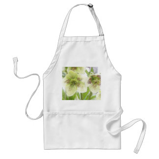 Early Spring Blooms - Hellebores! Adult Apron