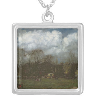 Early Spring, c.1868 Silver Plated Necklace