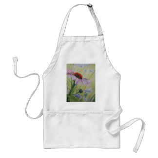 Early Spring Echnasia flower in bloom Apron