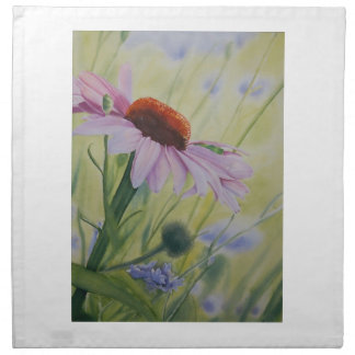 Early Spring, Echnasia flower in bloom Cloth Napkin