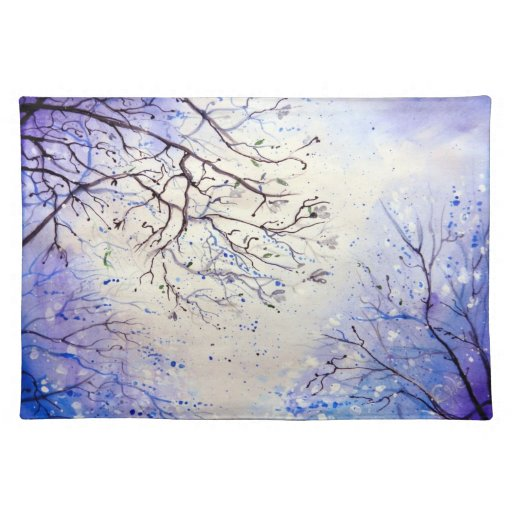 Early Spring Night Place Mat