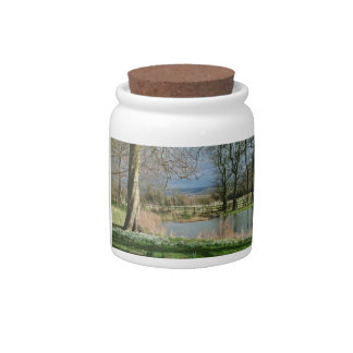 Early Spring Candy Jar