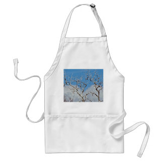 EARLY SPRING WITH BLUE SKY AND TREE BRANCHES STANDARD APRON