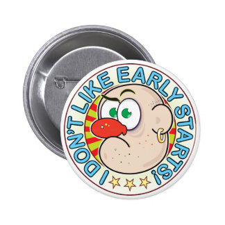 Early Starts Grumpy 6 Cm Round Badge