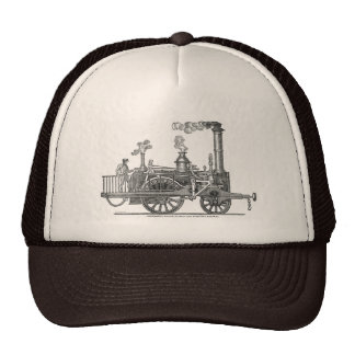 Early Steam Locomotive Cap