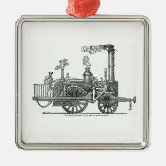 Early Steam Locomotive Christmas Ornament