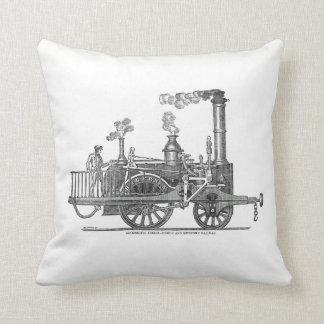 Early Steam Locomotive Cushion