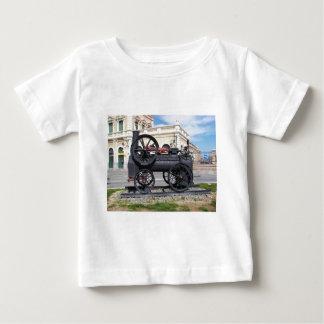 Early Steam Locomotive in Cartagena. Baby T-Shirt
