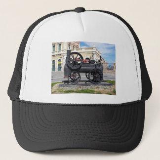 Early Steam Locomotive in Cartagena. Trucker Hat