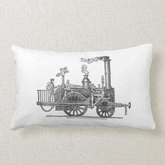 Early Steam Locomotive Lumbar Cushion