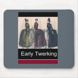 Early Twerking Mouse Pad
