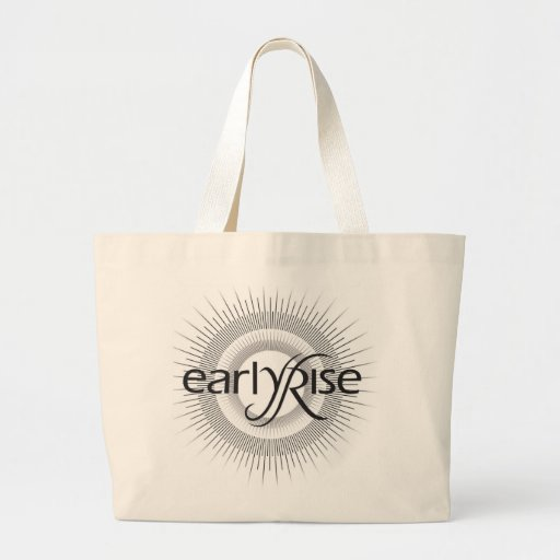 EarlyRise Design 2 Tote Bags