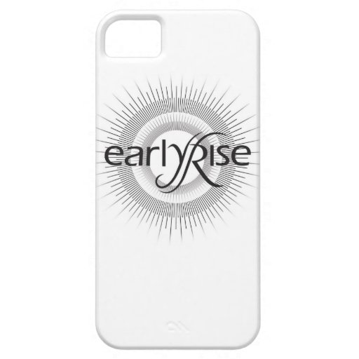 EarlyRise Design 2 iPhone 5 Cover