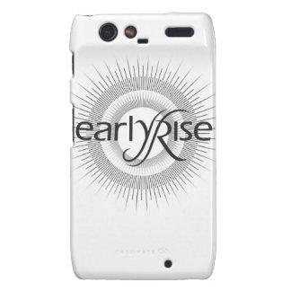 EarlyRise Design 2 Motorola Droid RAZR Covers