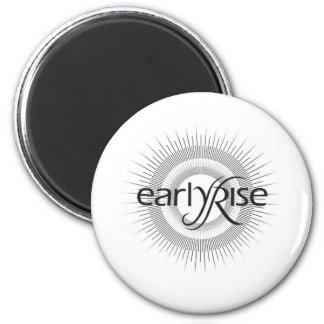 EarlyRise Design 2 6 Cm Round Magnet