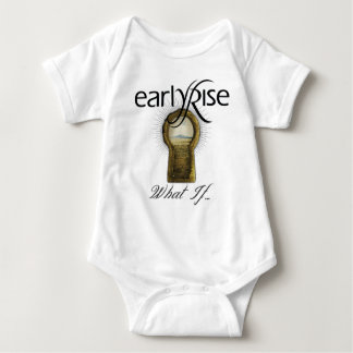 "EarlyRise ""What If"" Design 1 Baby Bodysuit"