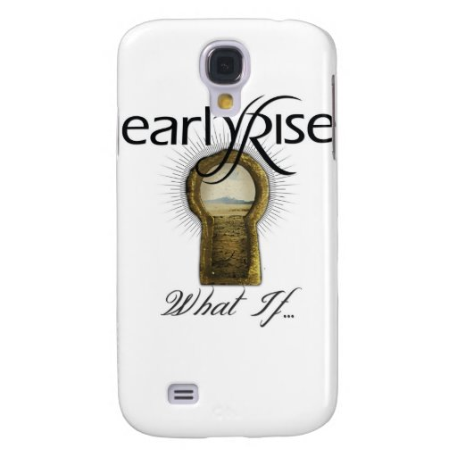 "EarlyRise ""What If"" Design 1 HTC Vivid Covers"