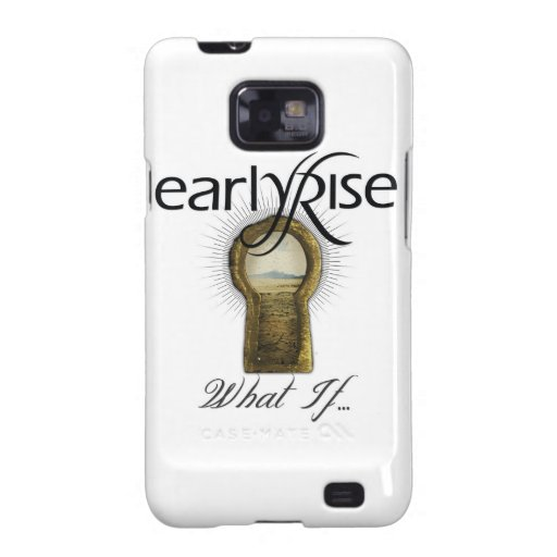 "EarlyRise ""What If"" Design 1 Galaxy S2 Cases"