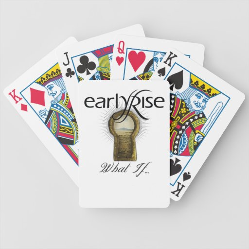 "EarlyRise ""What If"" Design 1 Playing Cards"