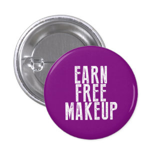 Earn Free Makeup - Younique 3 Cm Round Badge