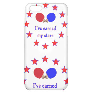 Earned My Stars Ping Pong Cover For iPhone 5C