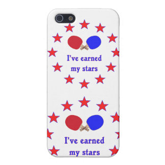 Earned My Stars Ping Pong Covers For iPhone 5