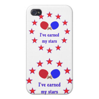 Earned My Stars Ping Pong Cases For iPhone 4