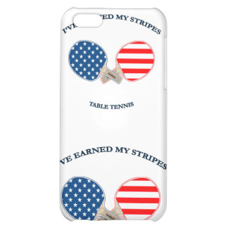 Earned My Stripes Table Tennis iPhone 5C Case