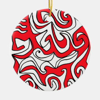Earnest Encouraging Dynamic Respected Round Ceramic Decoration