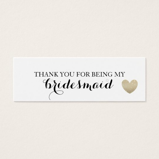 Earring Holder/Thank You - Heart Fab Mini Business