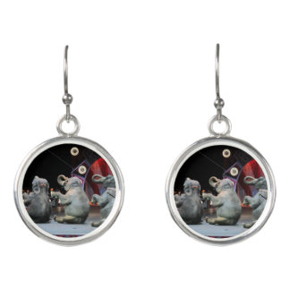 earrings elephant circus