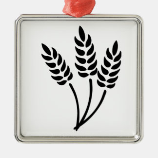 Ears of Wheat Christmas Ornament