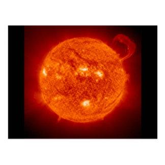 earth2 Sun Star Bumpersticker Postcard